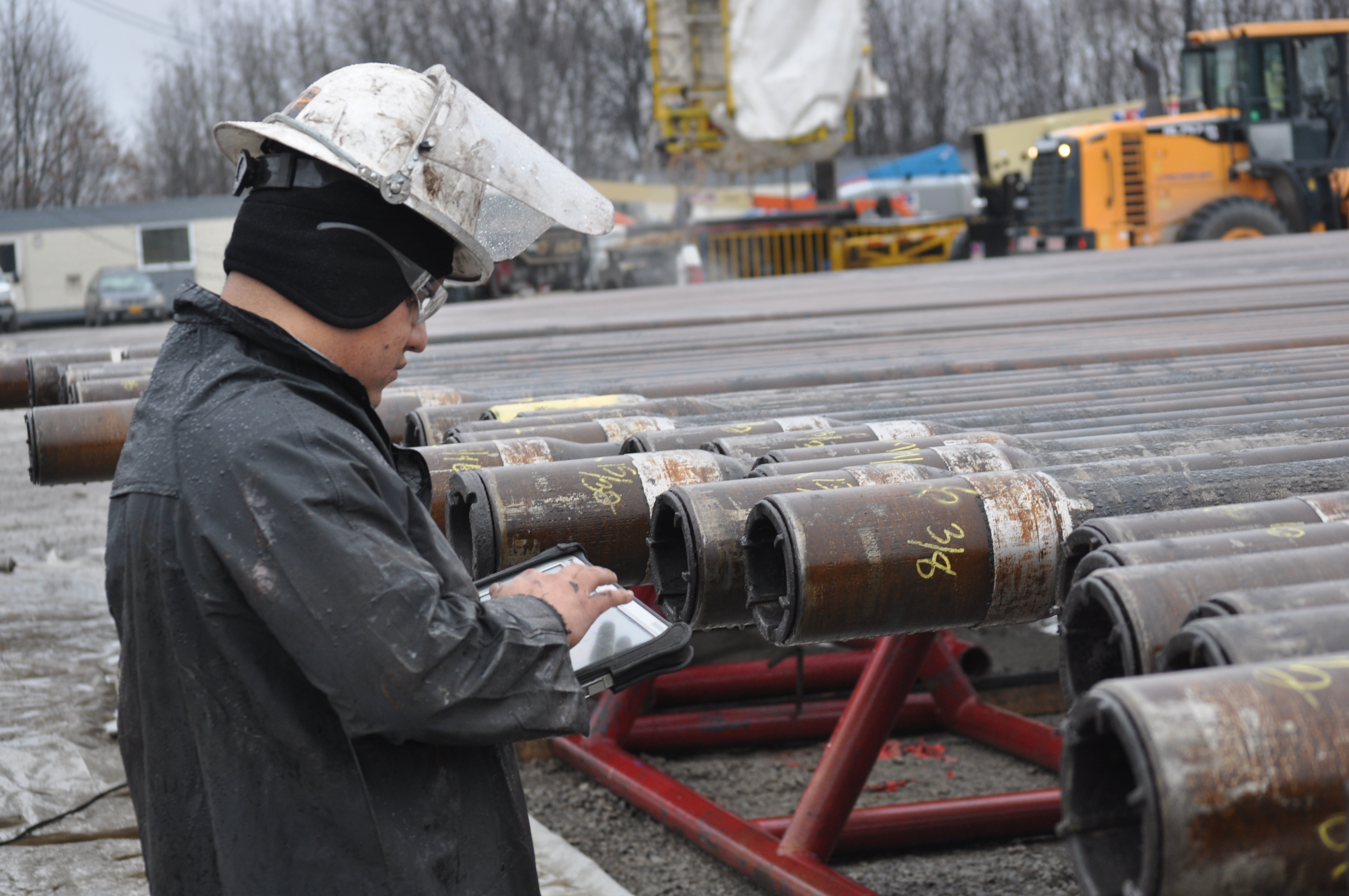 Mobile Drill Pipe Inspection